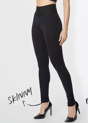 Calça Modeladora Skinny Preta