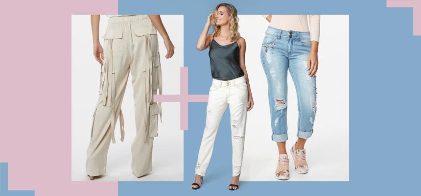 Três modelos de jeans para arrasar nas estações mais frias